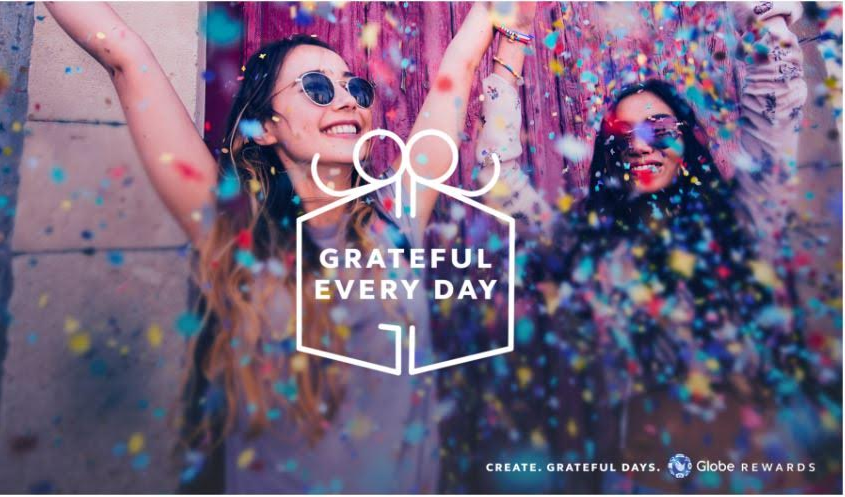 917 Day: A One Big Thank You From Globe Telecom #GratefulEveryday #GlobeRewards