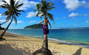 Wallpaper: My tree in the Samoa island