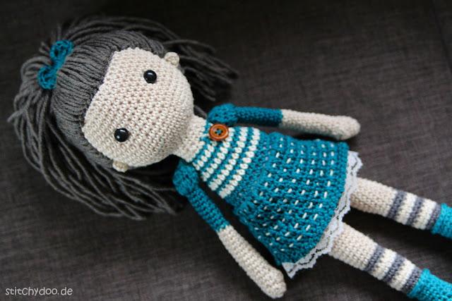 stitchydoo: Annabelle | Eine Häkelpuppe mit viel Liebe zum Detail