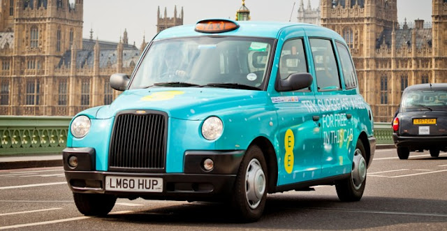 4GEE Taxi - London - Westminster