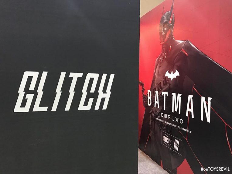 BATMAN CMPLXD in 1/6 by DC Comics x GLITCH Unveiled at Indonesian Comic Con 2017 & BATMAN: CMPLXD in 1/6 by DC Comics x GLITCH Unveiled at Indonesian ...