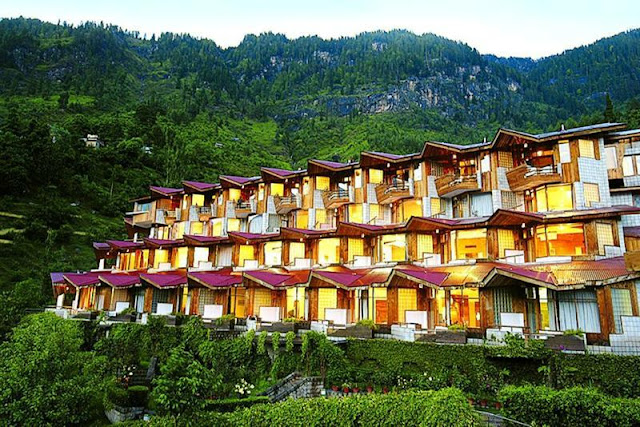 Manuallaya - The Resorts Spa Manali is an ideal property to reside during holidays.