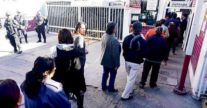Más de 25 mil maestros de Arequipa, Puno, Cusco y Tacna rindieron examen para ascenso en la escala magisterial y para ocupar cargos directivos