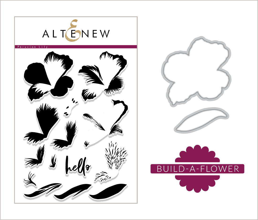 SOAPBOX CREATIONS: Altenew Build-A-Flower: Peruvian Lily Release...