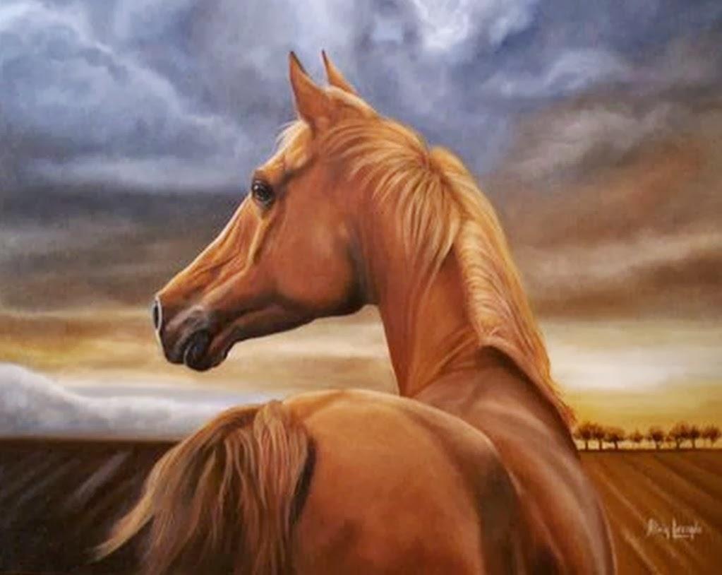 Cuadros modernos pinturas y dibujos caballos hermosos - Los cuadros mas bonitos ...