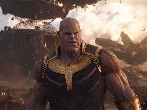 Thanos di Infinity War