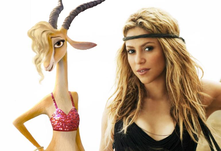 """""""Try Everything"""", música de Shakira para sua personagem no filme """"Zootopia"""", ganha clipe com cenas do filme!"""