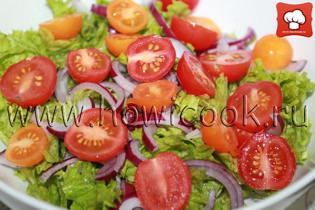 рецепт салата с индейкой с пошаговыми фото