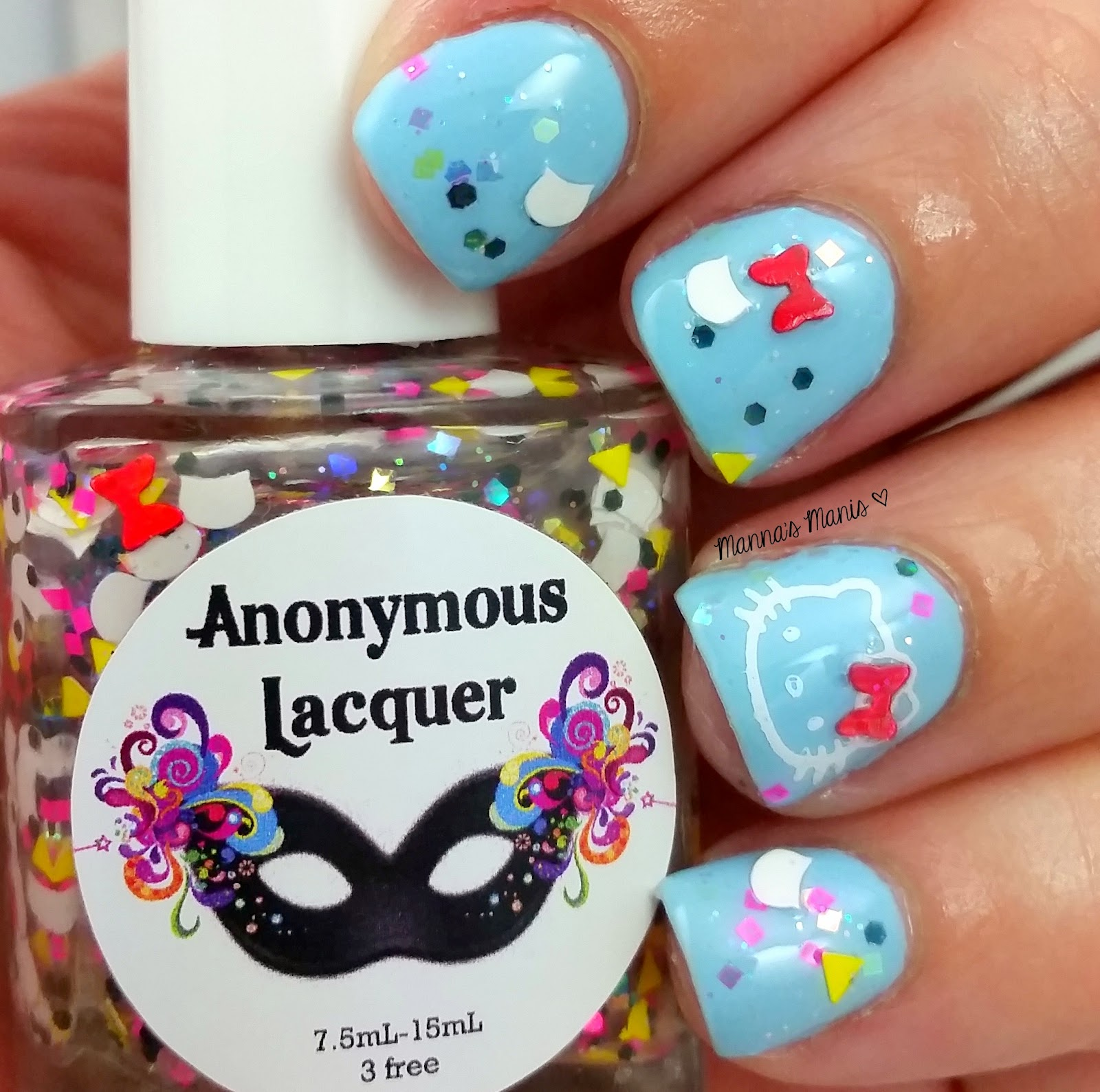 anonymous lacquer you had me at hello kitty nail polish