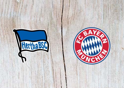 Hertha Berlin vs Bayern Munich Full Match & Highlights 6 Feb 2019