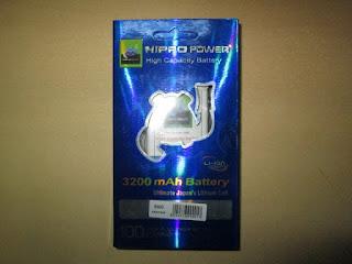 Baterai Hippo Blackberry 9900 Dakota 3200mAh