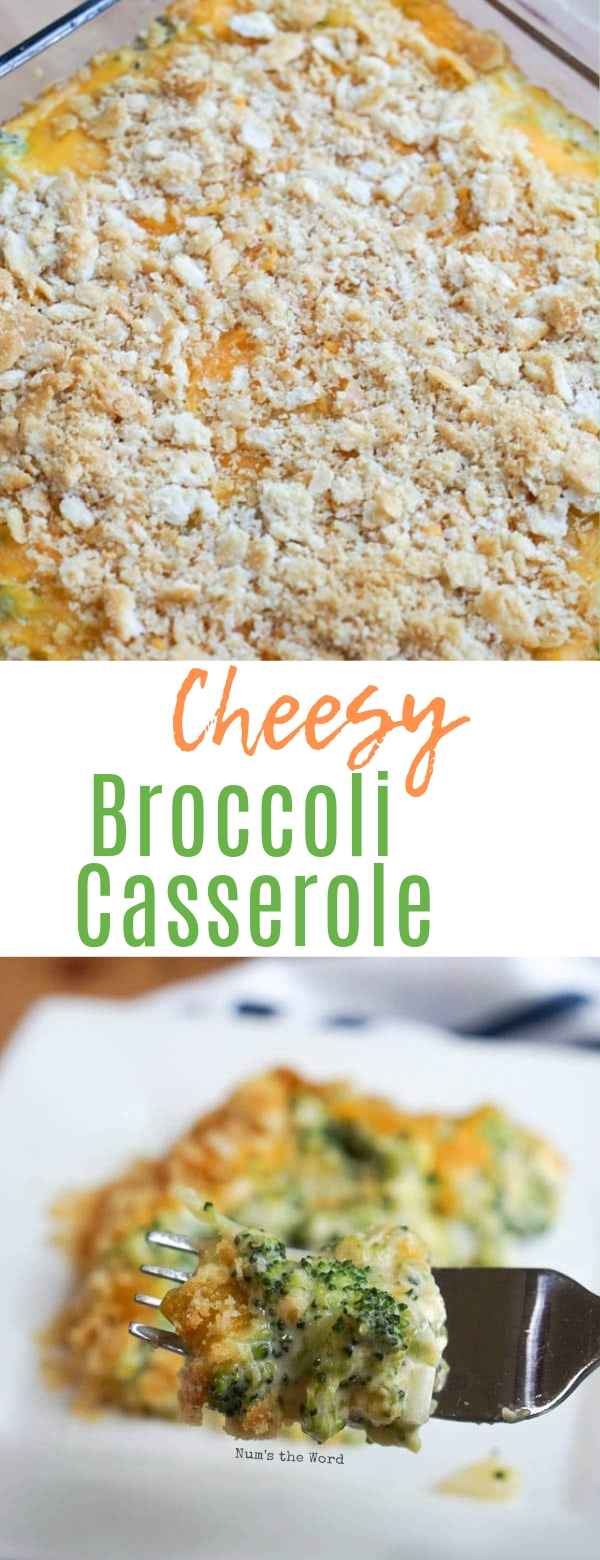 Cheesy Broccoli Casserole #cheesy #casserole