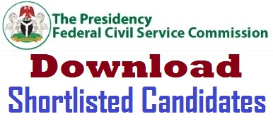 Download FCSC Shortlisted Candidates here