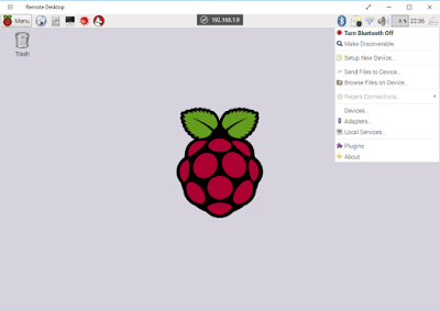 Setup Bluetooth for Raspberry Pi 3, Pair/Send files to Mobile devices and PC