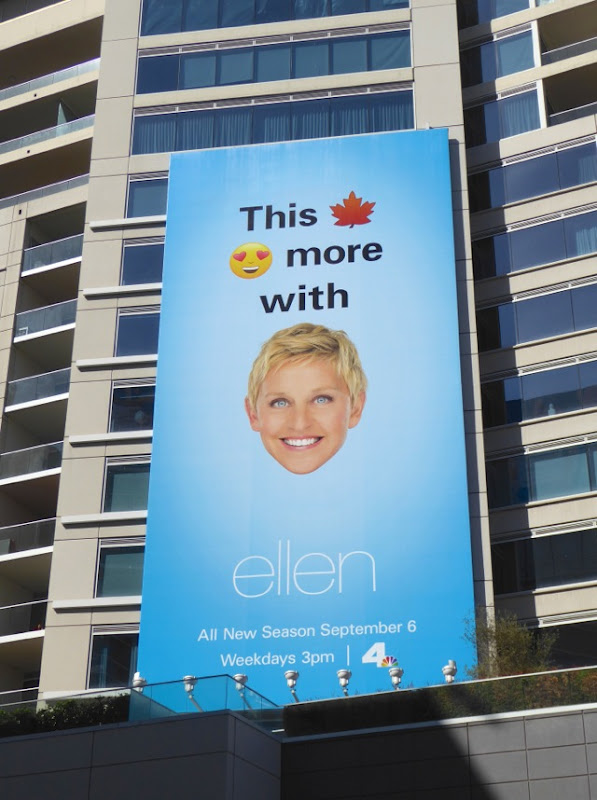 Ellen season 14 emoji billboard