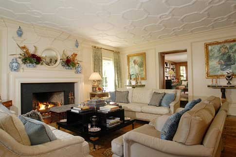 new house decorating ideas 2017  Grasscloth Wallpaper