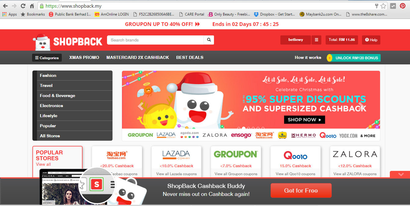 Attractive Shopping Online, More Discount and More Cashback