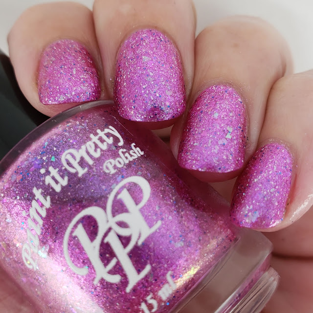 Paint it pretty polish, hypnotic, polish pick up, april, spring, pink, indie polish, indie lacquer, nail art, nail polish, pretty polish