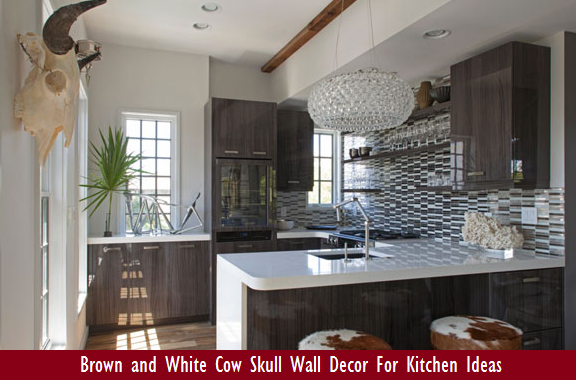 Cow Skull Wall Decor For Kitchen Ideas