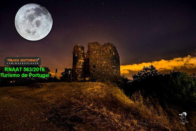 Trilhando Monsanto com a Lua Cheia, by Trilhos Nocturnos