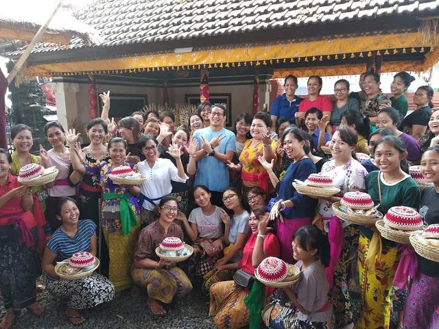 """Doa warga Bali untuk Sandi """"Semoga Bapak menang menjadi Wakil Presiden"""""""