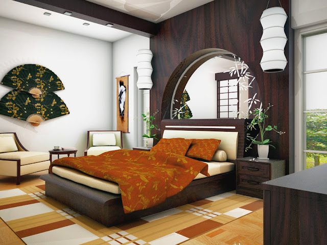decoration maison style asiatique. Black Bedroom Furniture Sets. Home Design Ideas
