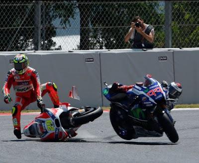 Insiden Barcelona, Bukti Nyata Iannone Layak Ditendang Ducati