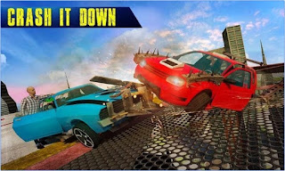 Game Car Destruction League Apk