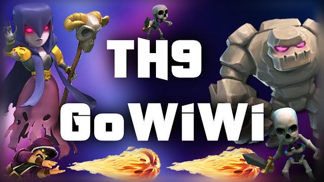 Pasang Strategi Menyerang GoWiWi COC Town Hall 9