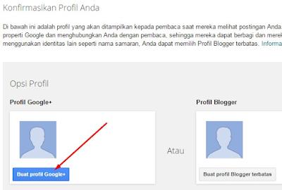 Konfirmasi Profil