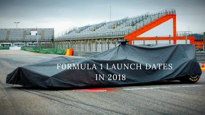 f1 launch
