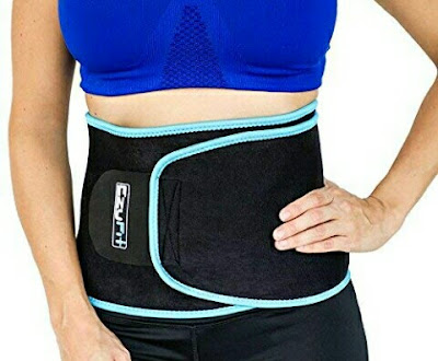EzyFit Tummy Trimmer - Adjustable Waist Trainer Ab Neoprene Belt