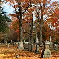 Antrim NH Cemetery _ Halloween New England