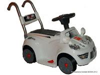 5 Mobil Mainan Aki JUNIOR JB21 MERCEDES dengan Kendali Jauh