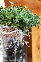 Hanging Horizontal Christmas Wreath