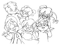 The Chipmunks And The Chipettes Together