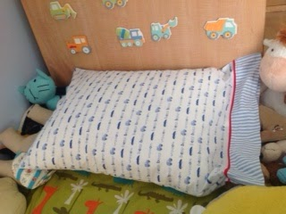 upcycled pillowcase