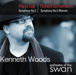 Hans Gal / Robert Schumann - Symphonies - Kenneth Woods - Orchestra of the Swan