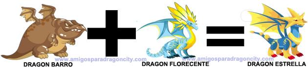 como sacar el dragon estrella en dragon city combinacion 1