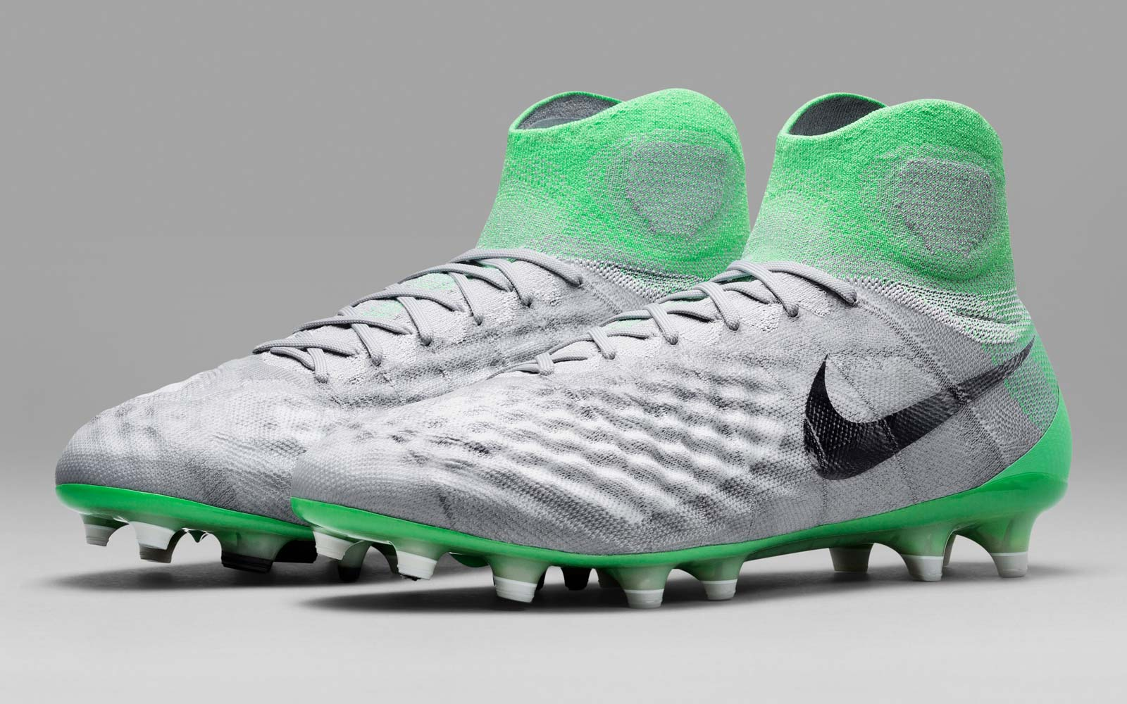 wolf grey electro green nike magista obra ii womens