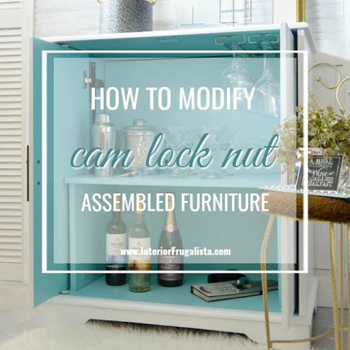 How To Modify Cam Lock Nut Furniture