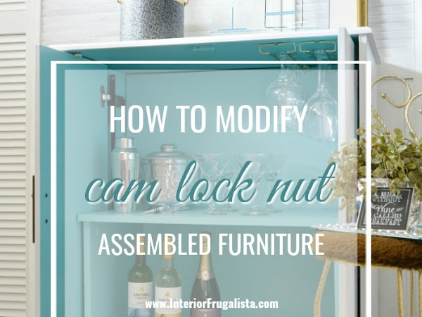 How To Modify Cam Lock Nut Furniture