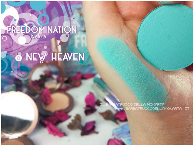 new heaven swatches nabla cosmetics freedomination collection summer eyeshadow