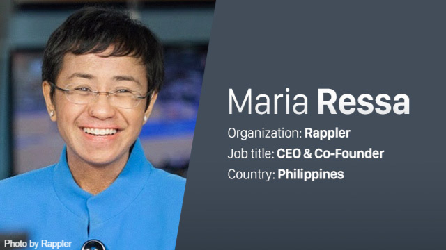 Rappler's Maria Ressa says she receives rape threats 90 times a minute