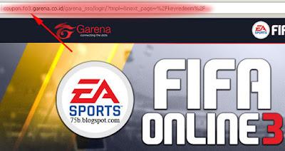 Tukar Kode Fifa Online 3 FO3