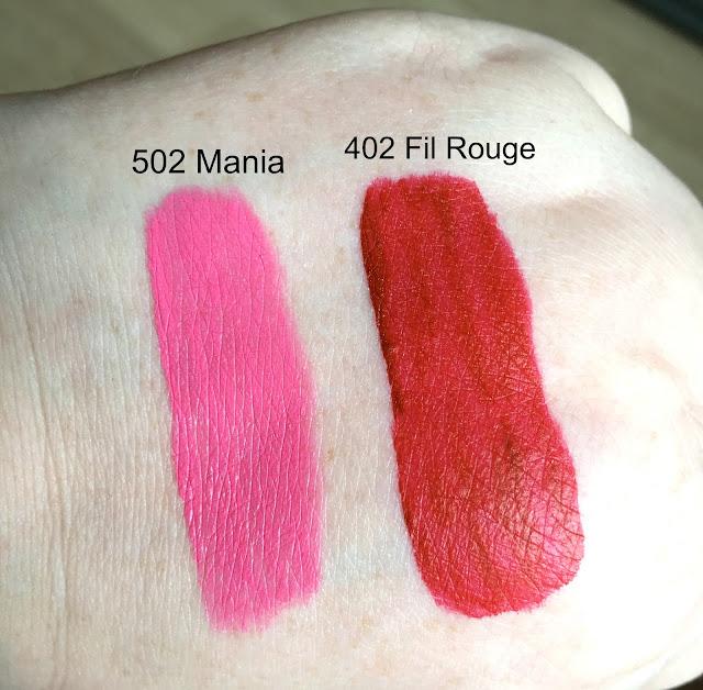 Giorgio Armani Lip Magnet Liquid Lipstick Swatches