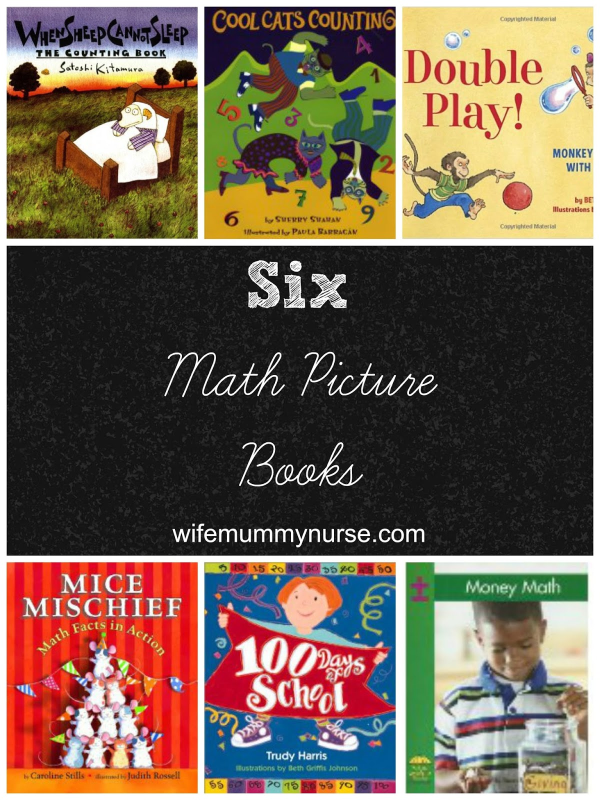 6 Math Picture Books
