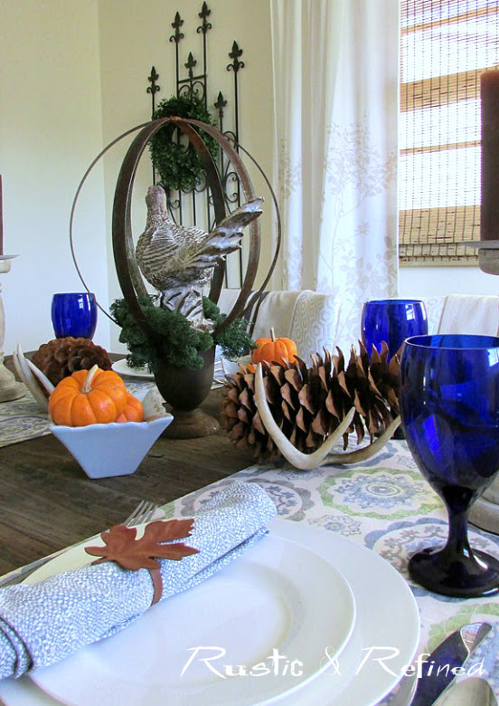 Elegant and easy tablescape ideas for Thanksgiving Holiday