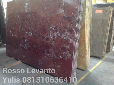 Marmer Murah Rosso Levanto