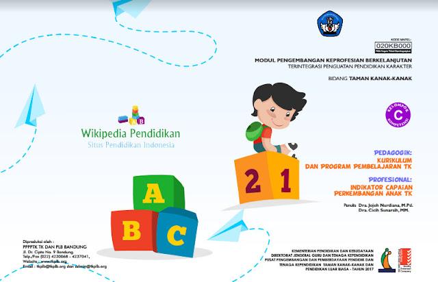 Cover Modul PKB Guru PAUD TK Kompetensi C Pedagogik dan Profesional 2017